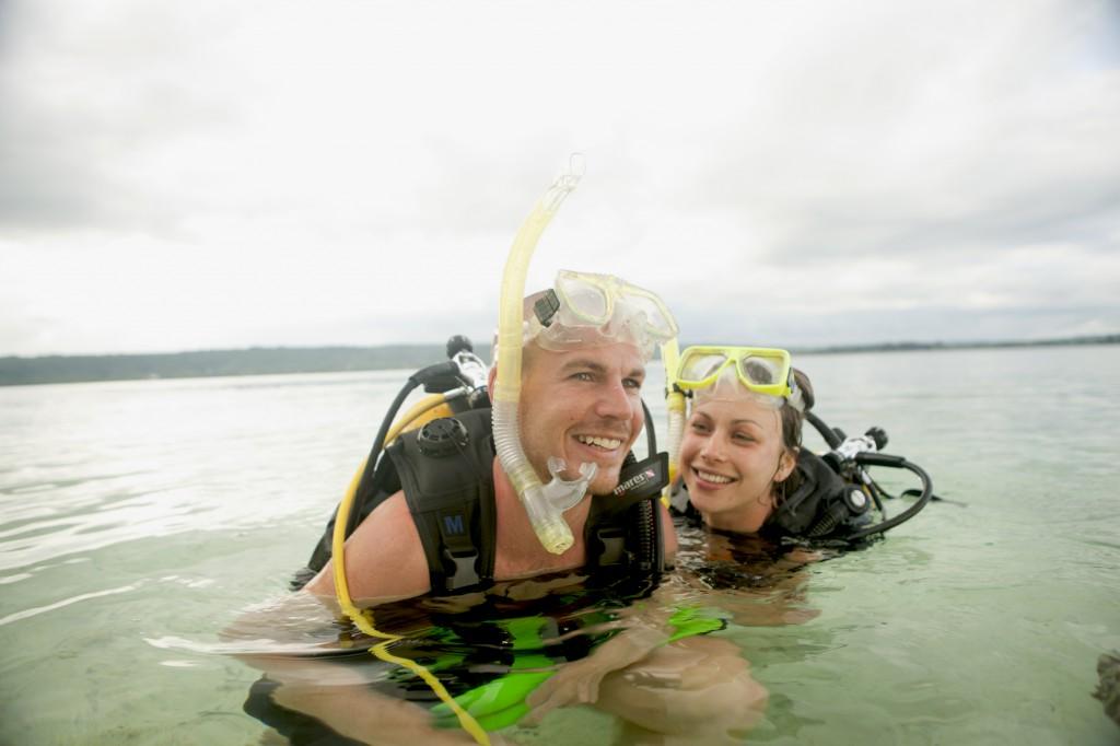 Pro-Dive scuba academy onsite
